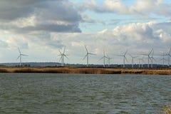 Granja de viento Imagenes de archivo