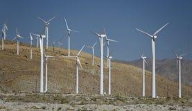 Granja de viento Imágenes de archivo libres de regalías