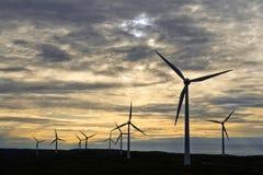 Granja de viento de Albany Foto de archivo libre de regalías