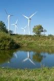 Granja de viento del campo imagen de archivo libre de regalías