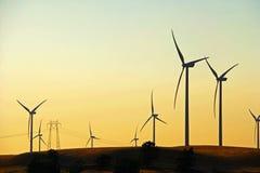 Granja de viento del delta imagen de archivo libre de regalías