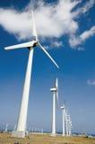 Granja de viento en Gran Canaria 2 Imagen de archivo