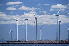 Granja de viento w6 Fotografía de archivo