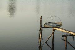 Granja del camarón de la naturaleza Fotografía de archivo libre de regalías