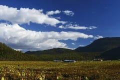 granja del la del shangri imagen de archivo