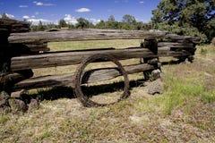 Granja del oeste vieja Foto de archivo libre de regalías