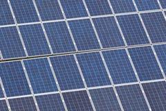 Granja del panel solar Imágenes de archivo libres de regalías