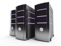 Granja del servidor Foto de archivo libre de regalías