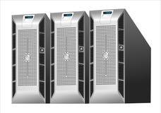 Granja del servidor Imagen de archivo libre de regalías