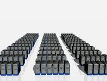 Granja del servidor. Fotos de archivo libres de regalías
