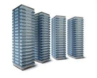 Granja del servidor de recibimiento Imagenes de archivo