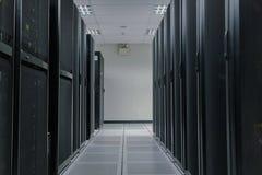 Granja del servidor en centro de datos Imagenes de archivo