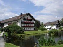 Granja en Alemania Foto de archivo