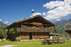 Granja en Austria imagen de archivo libre de regalías