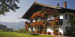 Granja en Baviera superior Imagenes de archivo