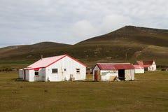 Granja en Falkland Islands Imágenes de archivo libres de regalías