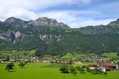 Granja en Suiza Imagen de archivo