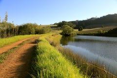 Granja en Western Cape Imagen de archivo
