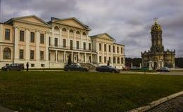 Granja histórica Dubrovicy Foto de archivo libre de regalías