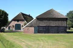 Granja histórica en Delden, Overijssel, los Países Bajos Fotos de archivo libres de regalías
