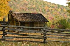 Granja pionera en otoño imágenes de archivo libres de regalías