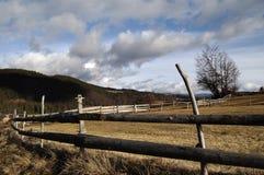 Granja rural imagenes de archivo