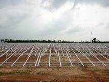 Granja solar Imágenes de archivo libres de regalías