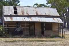 Granja vieja cerca de Dubbo, Nuevo Gales del Sur, Australia Foto de archivo