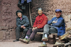 Granjero chino Fotos de archivo