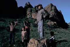 Granjeros chinos Fotografía de archivo