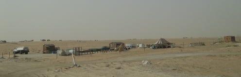 Granjeros que viajan en la Arabia Saudita Foto de archivo