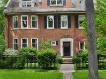 Grannskap för Toronto ` s Rosedale fotografering för bildbyråer