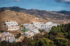 Grannskap i Malaga Arkivfoton