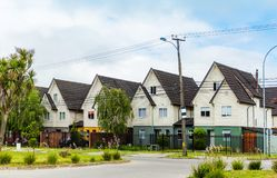Grannskap i Valdivia royaltyfria bilder