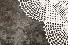 Granny crochet old sheet metal background Royalty Free Stock Images
