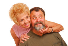 Granny and Grandpa Royalty Free Stock Photography