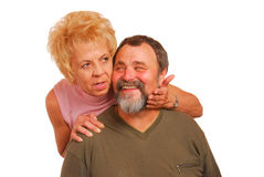 Granny and Grandpa Stock Images