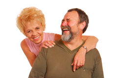 Granny and Grandpa Stock Photography