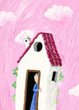 The Granny's House Royalty Free Stock Images