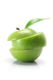 Granny Smith Apple. On White Background Royalty Free Stock Images