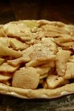 Granny Smith Apple Pie Tart. Before baking in the oven Stock Images