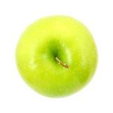 Granny Smith apple top Stock Photos