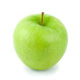 Granny Smith Apple (w/path) Royalty Free Stock Photography