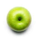 Granny Smith Apple. On White royalty free stock photo