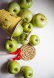 Granny smith apples Royalty Free Stock Photo