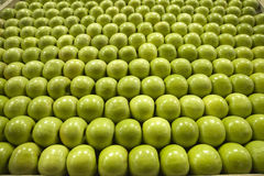 Granny smith green apples Stock Photos