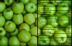 Granny Smith - Green apples - Nutrition Royalty Free Stock Photography