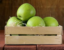 Granny Smith green apples Royalty Free Stock Photos