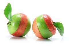 Granny Smith und Gala-Äpfel Lizenzfreie Stockbilder