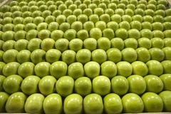 Granny- Smithgrüne Äpfel Stockfotos